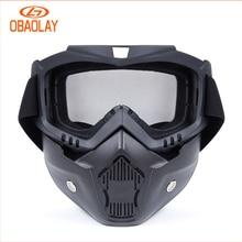 New Men Ski Snowboard Mask Winter Ski Snowmobile Goggles  /U