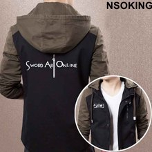 Sword Art Online Hooded Zipper Jacket
