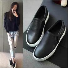 The latest spring and autumn solid color shoes Korean flat shoes black lazy shoes fashion shallow mouth flat shoes