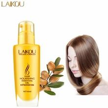 LAIKOU Moroccan Argan Oil Miracle Hair Treatment Nourishing Essential Oil Damaged Repair Hair Care Products Moisturizing 60ML