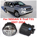 Для NISSAN X-Trail T31 Закрытое Вездеход 2007-2014 Белый Противотуманные фары Фары 6000 К 2 ШТ.