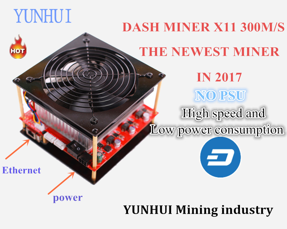 X11 DASH Miner Baikal miner BAIKAL CUBE 300M S 85W on wall Algorithm X11 X13 X14