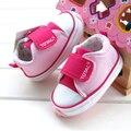 Nuevo 2016 del otoño del resorte de Moda infantil zapatos De bebé Recién Nacido niño zapatos de las muchachas antideslizantes zapatos casuales zapatos Inferiores Suaves prewalker