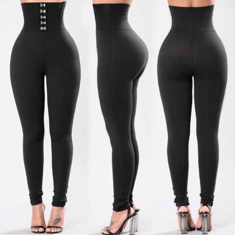MeiHuiDa 2018 Neue Stil Mode Frauen Solide Fitness Leggings Knöchel Länge Stretch Hohe Taille Leggings
