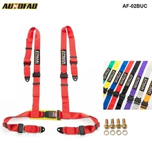 Different colors  2inch  Universal Vehicle Racing 4 Point Auto Car Safety Seat Belt Buckle Harness EPM 02BUC