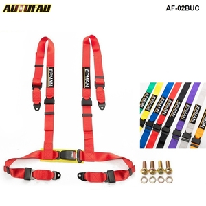 Image 1 - Different colors  2inch  Universal Vehicle Racing 4 Point Auto Car Safety Seat Belt Buckle Harness EPM 02BUC