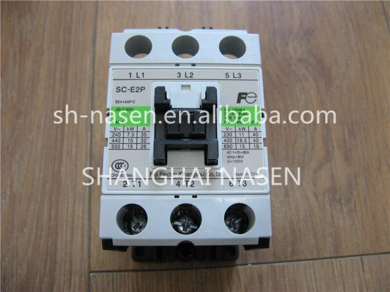 FUJI contactor SC-E2P SE41AAP-C ac contactor sc n5px