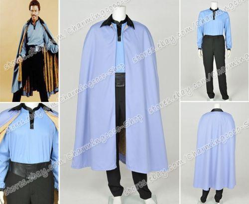 Star Wars Episode VII 7 Lando Calrissian Cosplay Costume Halloween Outfit Suit & Star Wars Episode VII 7 Lando Calrissian Cosplay Costume Halloween ...