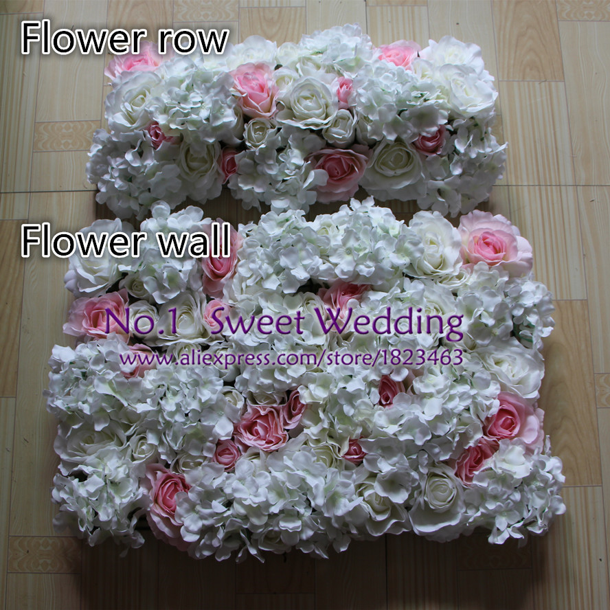 2017 New Wedding Decoration Artificial White Light Pink Rose And