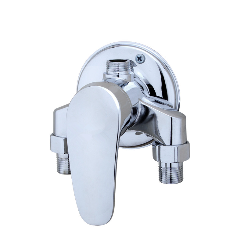 Surface Mounted Brass Shower Faucet Set Bathroom Mixer Solar Water Heater Mixing Valve Hot And Cold Taps Showers Switch shower faucet mixing valve for bidet solar heater shower mixer diverter