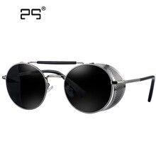 Steampunk Sunglasses Womens 2016 Sunglasses Men's Glasses Brand Round Sun glasses Oculos de sol feminino Female Eyewears 409