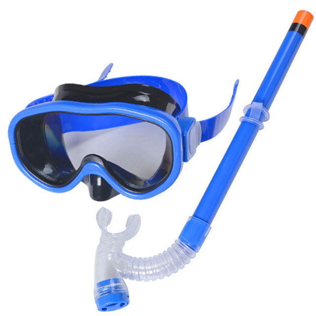Sıcak Çocuklar yüzme gözlükleri Yaz Çocuk Yüzme Dalış Gözlükleri Açık Yüzme Dalış Şnorkel Tüplü Maske dalış ekipmanları