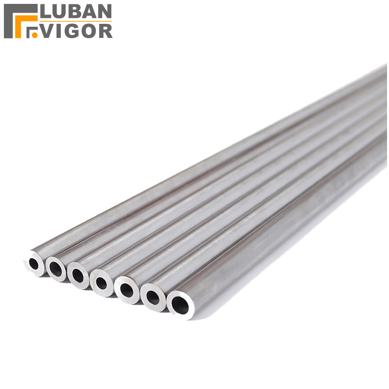 Customized product, 304 stainless steel pipe/tube,34mm x 4mm 530mm tube, Diameter: 26mm Length: 585mm round bar/rod