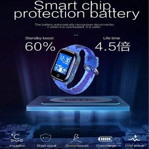 Image 2 - K21 Smart GPS Watch Kids 2019 New IP67 Waterproof SOS Phone Kids Smart Watch Children Clock Fit SIM Card IOS Android Wristwatch