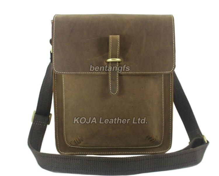 Новинка, модная мужская кожаная сумка-мессенджер из натуральной кожи, мужская повседневная сумка, портфель-слинг M133
