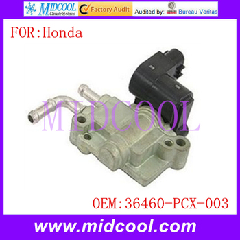 New Auto IAC Fuel Injection Idle Air Control Valve use OE NO. 36460-PCX-003 / 36460PCX003