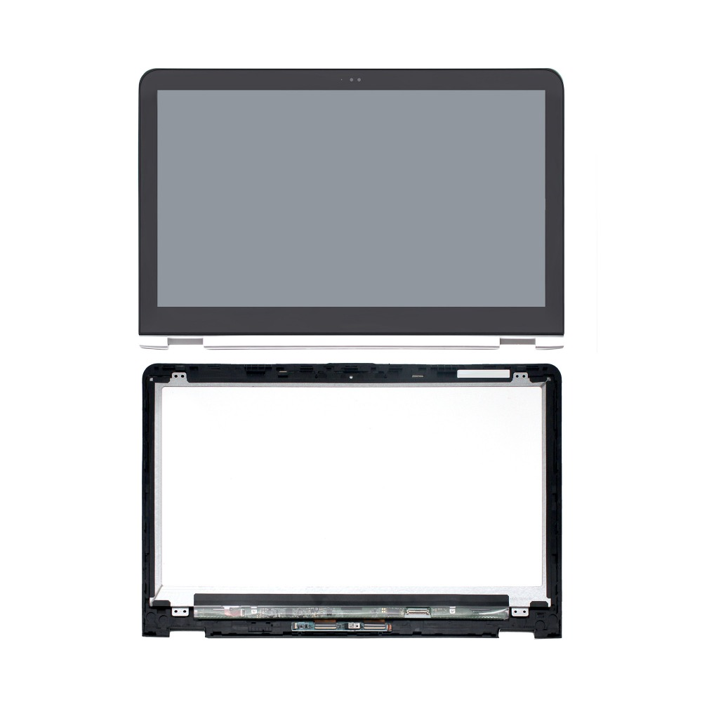 FHD 1080P LCD Touch screen Digitizer IPS Display Assembly for HP Envy x360 15-aq 15-aq105ng 15-aq101ng 15-aq102ng 15-aq104na for hp envy 15 bq194nz 15 bq199nz 15 bq051sa 15 bq150sa 15 bq100nl 15 bq101nl 15 bq103nl lcd display screen touch glass assembly