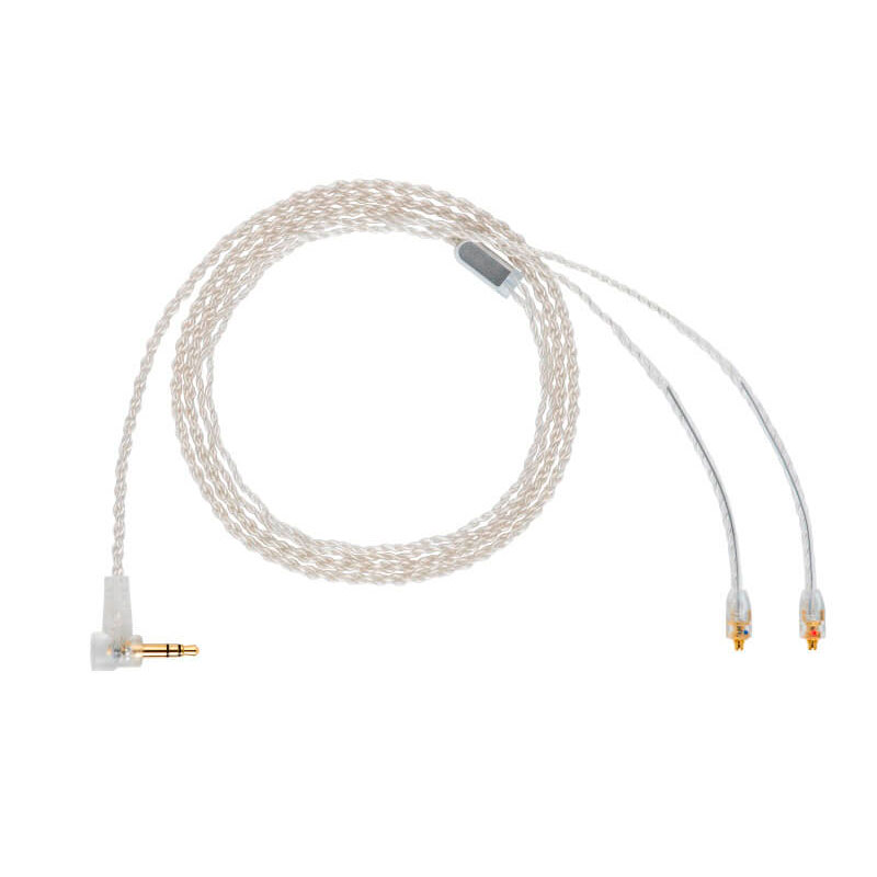 Câble pour écouteurs OKCSC MMCX Litz 4 cœurs fil de cuivre plaqué argent câbles de mise à niveau pour casque Shure Westone SE535 w60 UE9