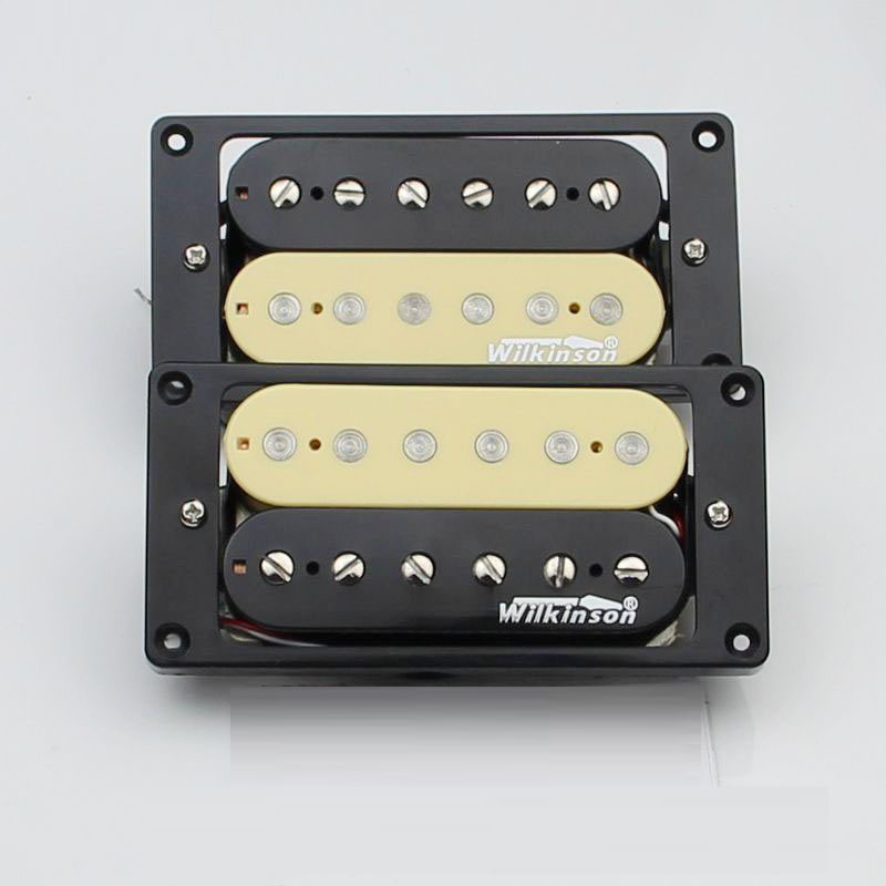 1 Set Electric guitar pickup zebra pick-up Wilkinson WVHZ Humbuckers Pickups urvoi milanese band for apple watch series 1 2 3 link bracelet strap for iwatch stainless steel buckle wrist with adapters 38 42