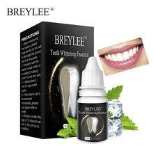 BREYLEE Teeth Whitening Essence Oral Hygiene Cleaning Serum White Gel Care Removes Plaque Tooth Bleaching Dental Tool