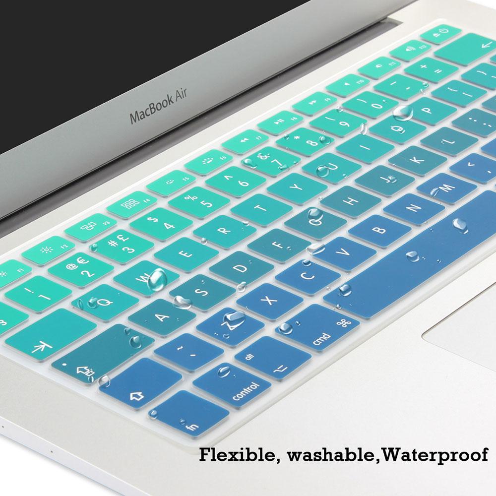 UE Reino Unido Entra en inglés Diseño de degradado de colores - Accesorios para laptop - foto 3