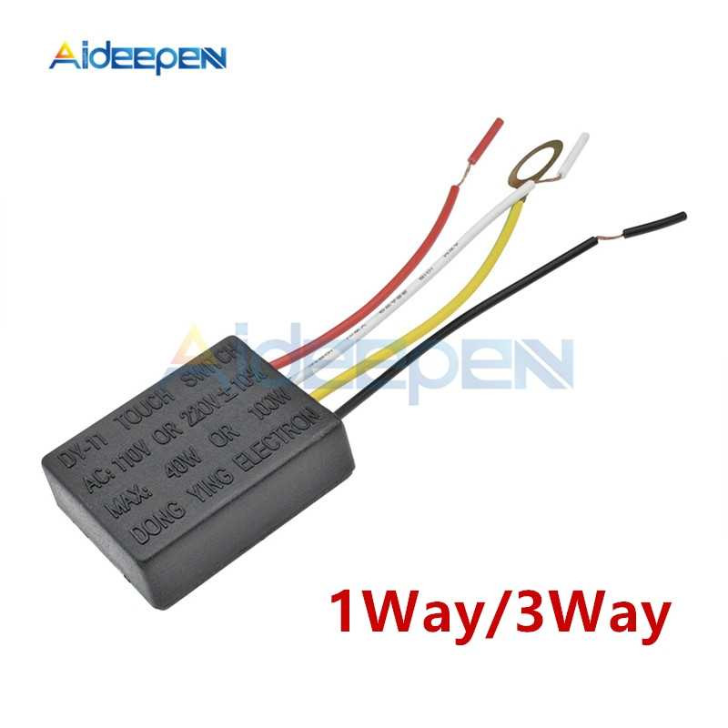 AC 220V 1 Way/3 Way Touch Control Sensor Switch Touch Lamp Desk Light Parts Switch Repair For Light Bulbs Energy-saving Lamps