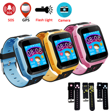 Original Q528 Y21 GPS Smart Watch With Camera Flashlight Baby Watch SOS Call Location Device Tracker for Kid Safe Q750 Q100  Q90