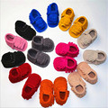 Handmade Suede Leather Summer Infant Kid Girl Princess Shoes Baby Moccasin Shoes Toddler Newborn Boy Prewalkers Summer Shoes