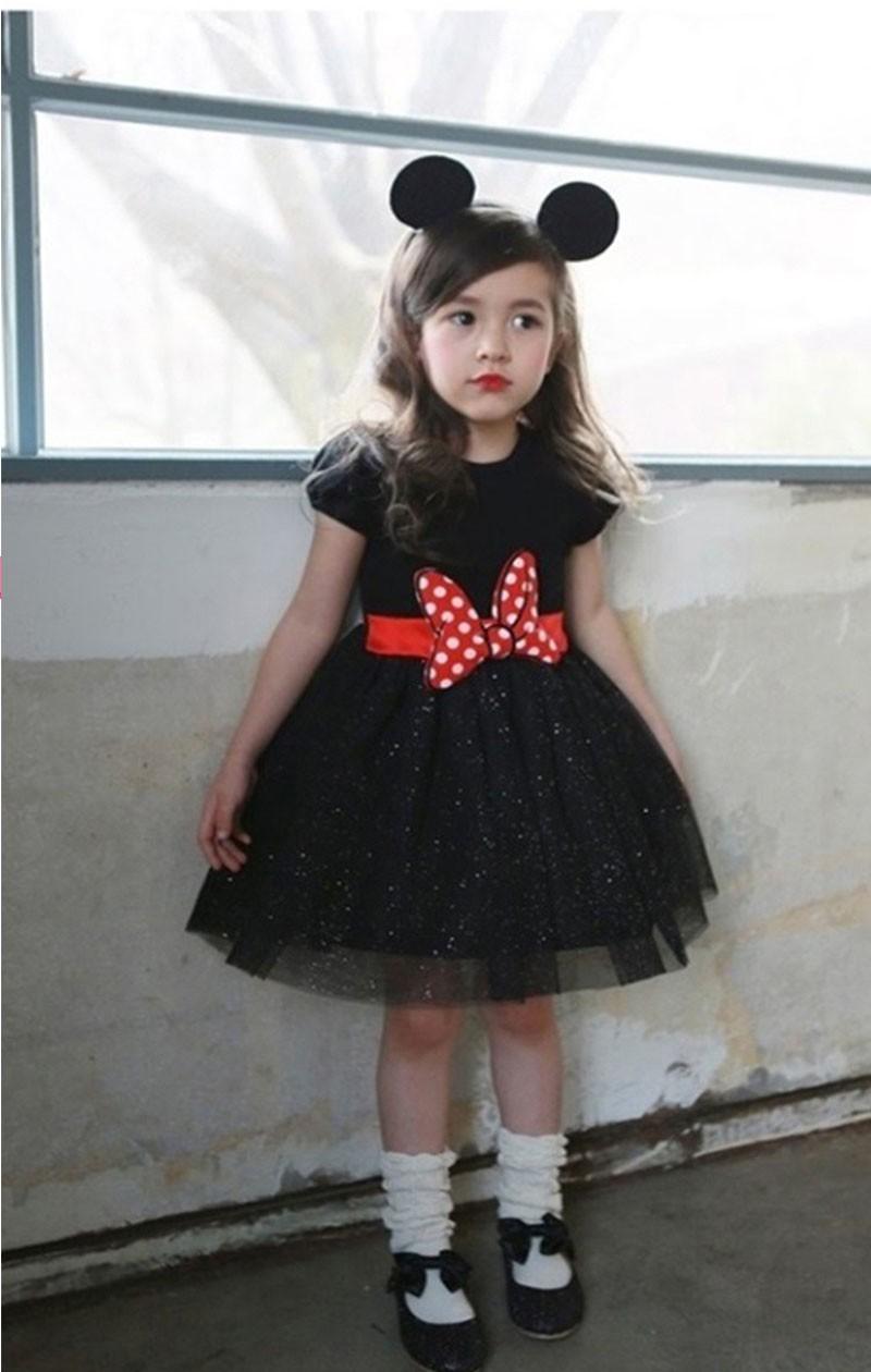 HTB1E6a0LpXXXXczXFXXq6xXFXXXB - 2017 Summer Baby Girls Dress Minnie Mouse Dresses For Girls Princess Minnie Dress Birthday Party Children Clothes Kids Costume