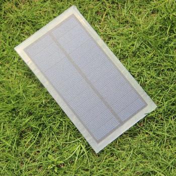 BUHESHUI Polycrystalline 1.75W 6V Solar Cell Solar Panel For Solar Folding Charger/Charging Bag /Backpack Wholesale 500pcs
