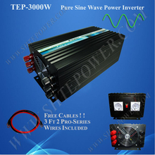 Pure sine wave 48v input 3000watt power converter 220v 230v 240v output