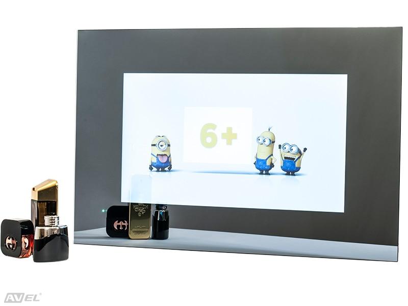 21.5 waterproof Mirror TV for Bathroom+Smart Kit, Digital tuner DVB-T/T2 (Freeview). AVS220FS.  Free shipping. 26 with smart kits bathroom tv waterproof tv avis avs260f dvb t dvb t2 dvb s2 dvb c free shipping