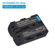 NPFM500H NP FM500H FM55H 1800mAh Li Ion Batterie De Remplacement pour Appareil Photo Sony A58 A65 A77 A99 A100 A350 A450 A500 A550 Bateria