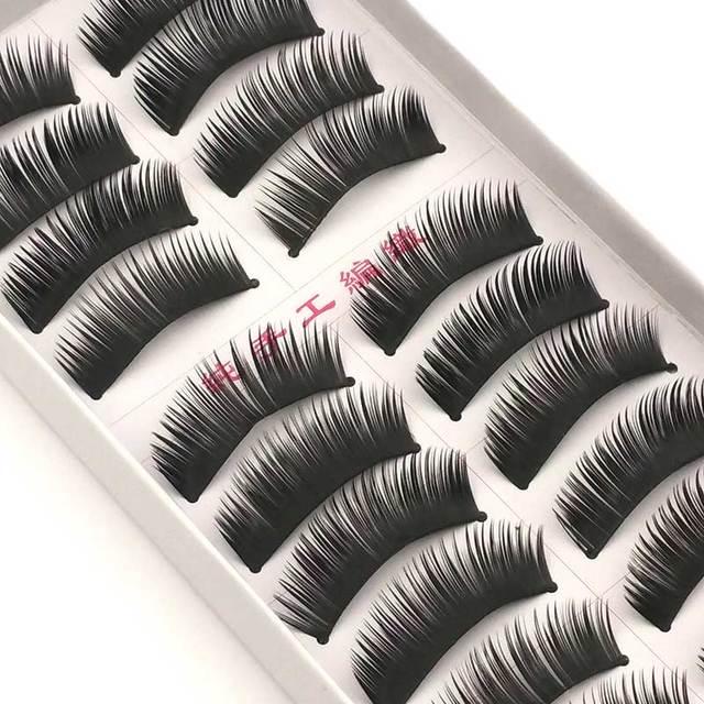 New 5 styles 10 pairs false eyelashes makeup beauty eyelash extension natural fake eyelashes for maquiagem makeup thick cilios 1