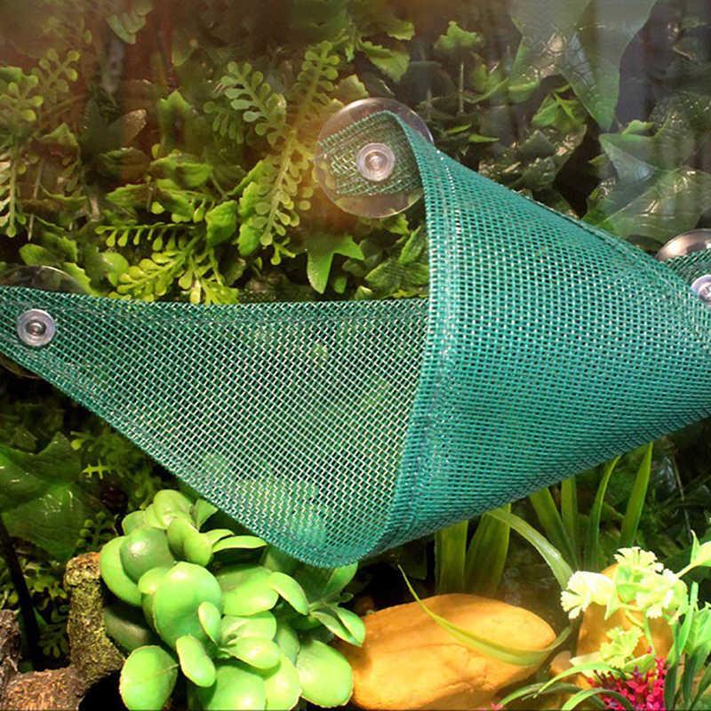 Подвесная койка для животных шезлонг сетка рептилия, Змея Ящерица Спящая кровать игрушки-качели Оксфорд тканевый гамак для рептилий с присоской