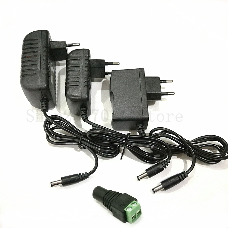 DC12V Adapter AC100-240V Lighting Transformers OUT PUT DC12V 1A / 2A / 3A Power Supply for LED Strip waugh e put out more flags