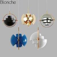 Nordic подвесные светильники лампы творческий светильник светодио дный круглый Hanglamp Home Decor светильники для Обеденная Кухня бар освещения