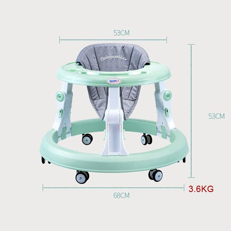 Nombre. A bébé marcheur poussette marche bébé premiers pas voiture pliante bambin chariot assis sur pied vélo enfants tricycle pour enfants - 6