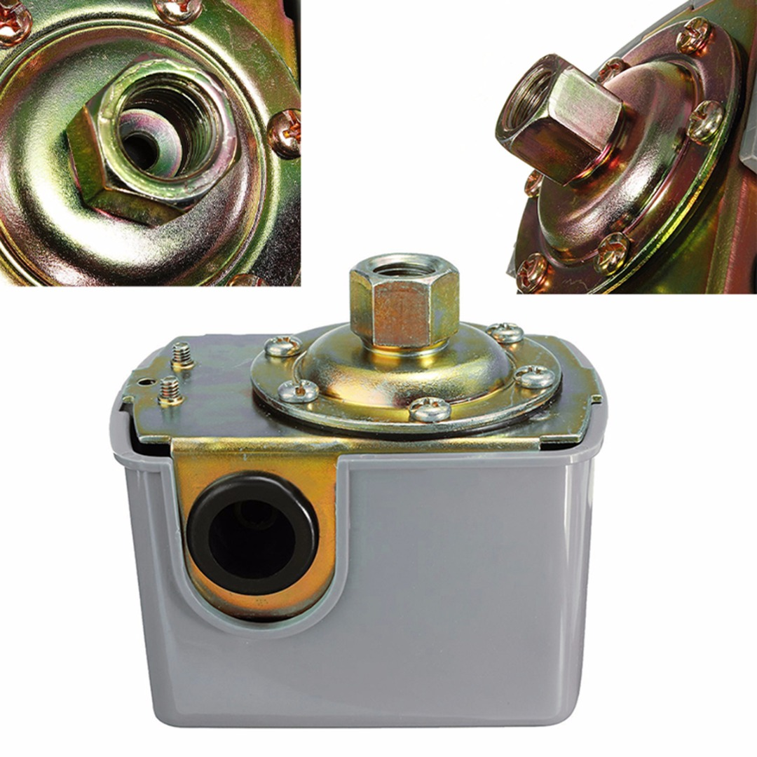 New 40-60psi Well Water Pump Pressure Control Switch Adjustable Double Spring Pole For Water Pumps крючкова ольга евгеньевна город богов роман