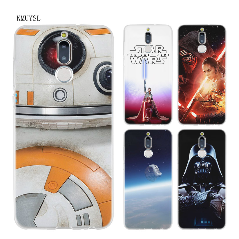 KMUYSL star wars force awakens kylo ren TPU Transparent Soft Case Cover for Huawei Mate  ...