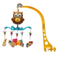 602 25 Baby Bed Bell Toys Song Early Education New Brand Electric Music Gift