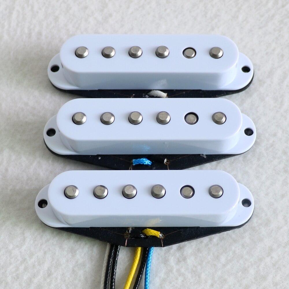 Diy Guitar Kit 1 Set 60 s style Stagger Alnico 5 Rod Vintage Single Coil Guitar