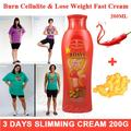 200g Anti Cellulite 3 Days Slimming Cream Chili&Ginger Stubborn Fat Burn potent lose weight burning fat cream Firming