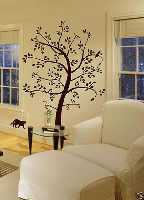 Aliexpress.com : Buy Unique Vinyl tree wall art wall sticker home ...
