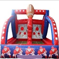 Inflatable Shooting Stars Interactive Game kids indoor playground inflatable basketball court field for sale
