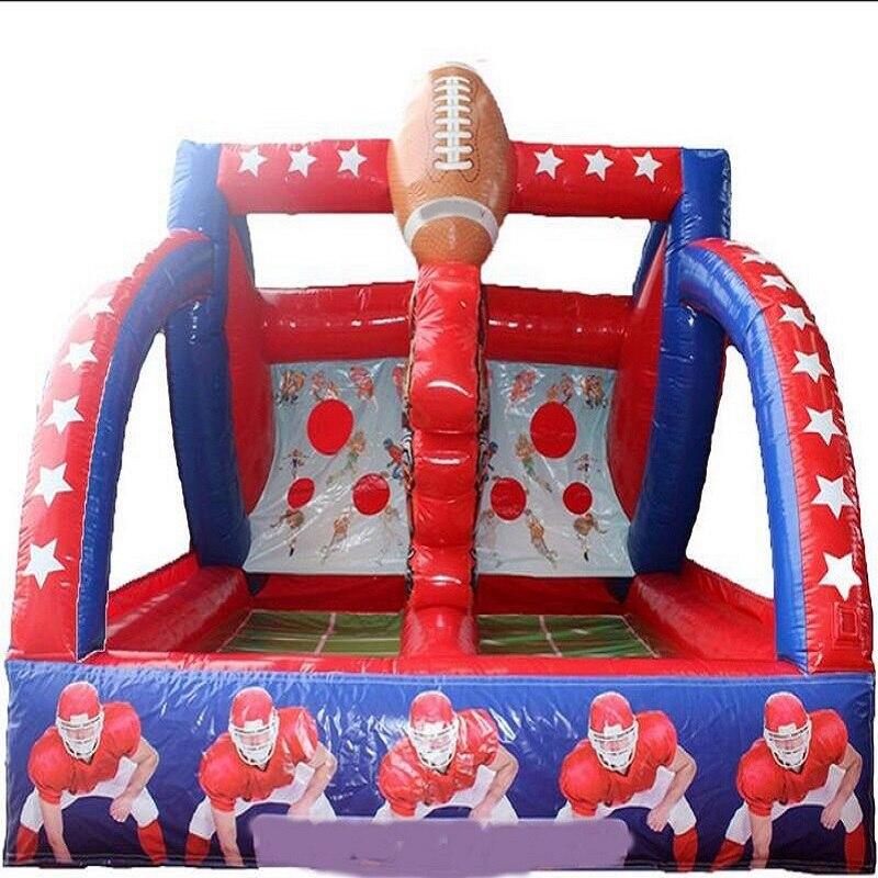 Terrain de basket-ball gonflable de terrain de jeu d'intérieur d'enfants de jeu interactif d'étoiles de tir gonflables à vendre