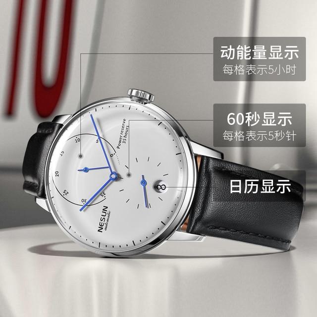 Luxury Brand Watch Nesun Automatic Mechanical 3