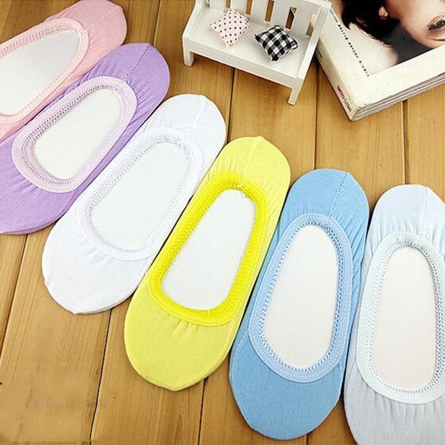 3 pairs Women Short Summer Slipper Socks Ladies Invisible Boat Sock Girls Footsie Skin Thin Fashion Low Cut Footwear