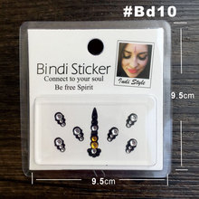Classic Bindi- And Fashionable Temporary Rhinestone Face Gem Jewel Stickers