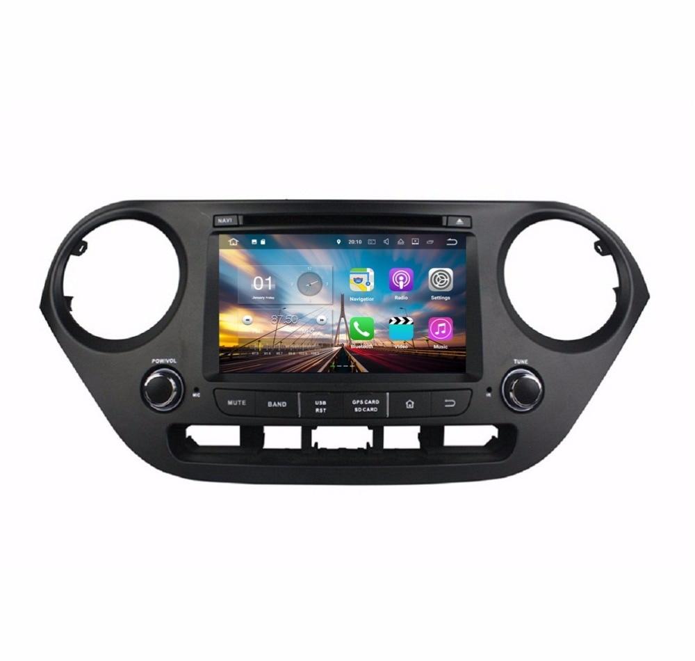 Android 7 1 Quad Core 7 Car font b Radio b font DVD GPS Multimedia Head